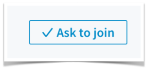 LinkedIn Ask To Join