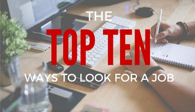 The Top 10 Proven Ways To Find A Job This Week